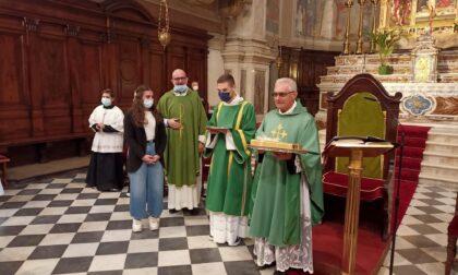Pienone in Santa Maria Assunta a Palazzolo per il benvenuto a don Lorenzo Medeghini