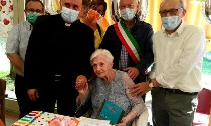 Maria Lorini ha spento 100 candeline